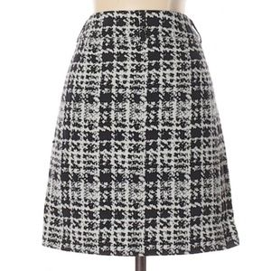 INC International Concepts Black & White Skirt